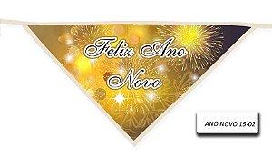 Kit 10 Bandanas ANO NOVO-15