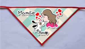 Kit 10 Bandanas Mães - Fêmeas e Machos