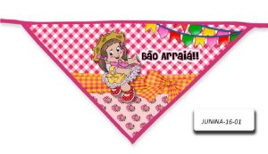 Kit 10 Bandanas - Junina- BLP- 16