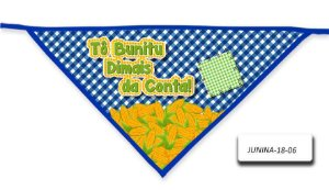 Kit 10 Bandanas - Junina- BLP- 18-02