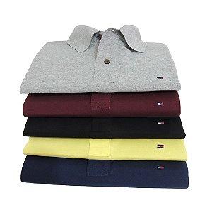Kit 5 Camisas Polo TMH