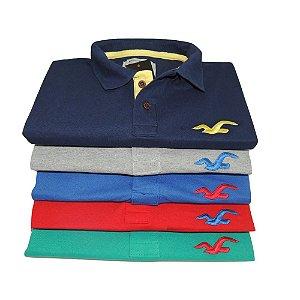 Kit 5 Camisas Polo HLT