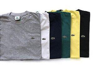 7e67dfa4d620 Kit 3 Camisetas Manga Curta LCT