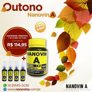 Nanovin A - Complexo Vitaminico + 4 Tônicos
