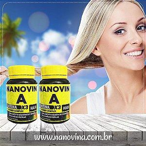 Nanovin A - Complexo Vitaminico - 2 Frascos
