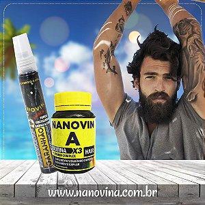 Kit 1 Nanovin A Garanhão + 1 Complexo Vitamínico Nanovin A