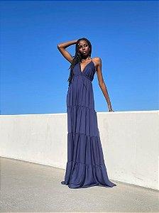 Vestido Catarina Azul
