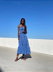 Conjunto Lili Bandana Azul