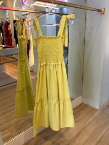 Vestido Valentina Verde Lima