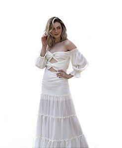 Vestido Cesca Off