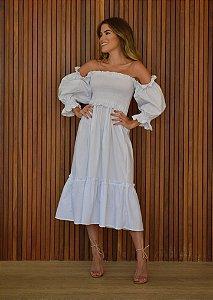 Vestido Amelia Branco