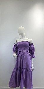Vestido Amelie Lilás Escuro