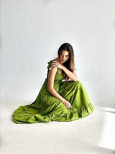 Vestido Tina Musgo