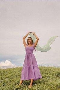 Vestido Valentina Lilás