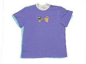 Camiseta Lilas - Colisão
