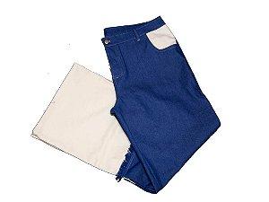 Calça Jeans Bicolor Clara