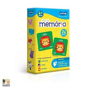 Jogo da Memória Animais - Português, Inglês e Espanhol