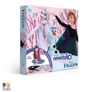 Quebra-Cabeça Grandão Frozen 120 peças