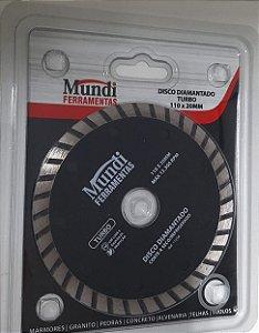 DISCO DIAMANTADO 110 MM TURBO