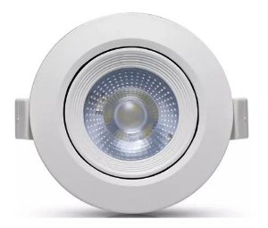 SPOT LED 7W REDONDO 6500K