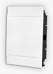 QUADRO PVC EMBUTIR 12/18 BRUM
