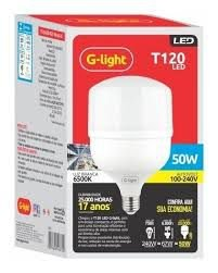 Lâmpada LED Bulbo 50W 6500K G-Light