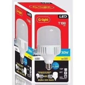 LAMPADA LED BULBO 30W 6500K G LIGHT