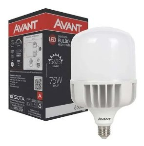 LAMPADA LED BULBO 75W 6500K AVANT