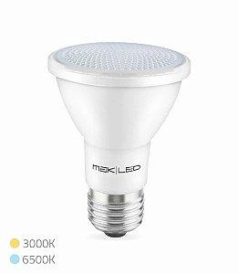 LAMPADA LED PAR 20 6,5 WATTS 3000K MAK LED