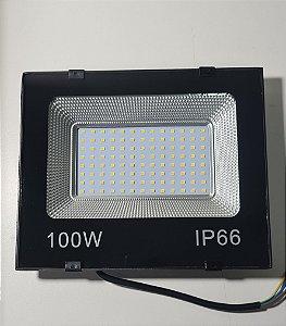 REFLETOR LED 100W 3000K PT AAA