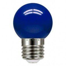 Lâmpada LED Bolinha 6W Azul Luminatti