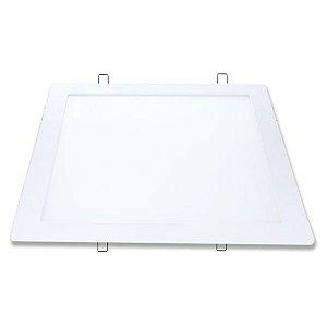 Painel LED Embutir 24W 6500K Quadrado Avant