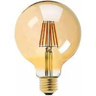 LAMPADA FILAMENTO G95 E27 4W