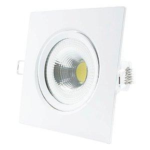 Spot LED 5W Quadrado 6500K
