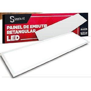 PAINEL LED EMBUTIR 36W 15X1,20  RETANG 6500K