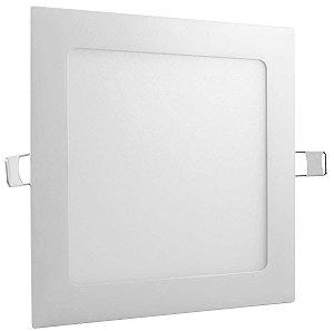 PAINEL LED EMBUTIR QUADRADO 12W 3000K