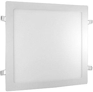 Painel LED Embutir Quadrado 24W 4000K