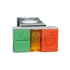Botão Plástico Emergência Duplo StarK XB2-EW8466