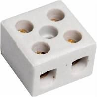 Conector Sindal Porcelana 16MM 2 Polos 50A 600V