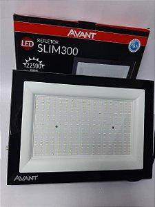 REFLETOR LED 300W SLIM 6500K