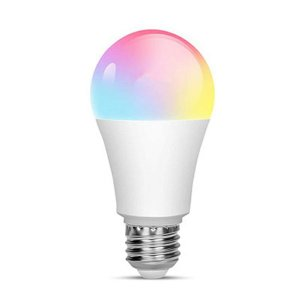 LAMPADA BULBO LED RGB 3W E27 BIVOLT COLORIDA CONTROLE REMOTO