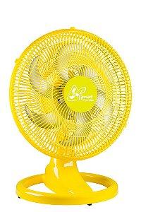Ventilador Retro Mesa 50 CM Amarelo