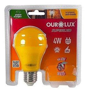 LAMPADA LED 4W ANTI-INSETO - OUROLUX