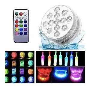 LAMPADA RGB PARA PISCINA 3 PILHAS REF. 60323