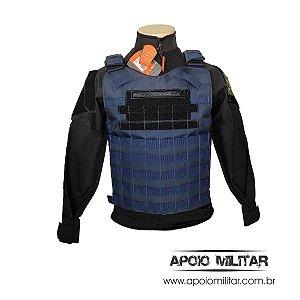 Colete Modular Combat Tático Azul