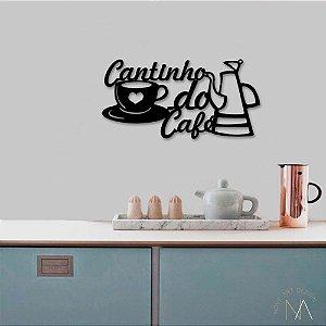 Placa Cantinho do Café Bule