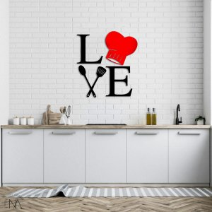 Quadro Love Cozinha
