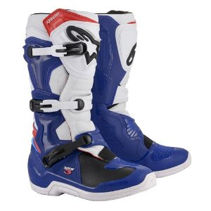 BOTA NEW TECH 3 BCO/AZUL TAM 11 (42/43)
