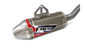 ESCAPE COMPLETO FOCO RACING CRF 230 TITANIO