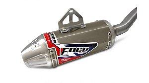 ESCAPE COMPLETO FOCO RACING CRF 230 TITANIO